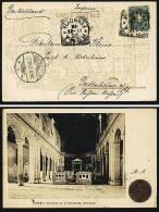 A1311) Italien Italy Schöne Drucksache-Karte Von Rom 25.11.1900 - 1878-00 Humbert I.