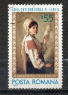 3 -RUMANIA-1975-DIA INTERN. DE LA MUJER-Mujeres Del Mundo- - 1948-.... Repúblicas