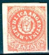 Argentina 1862 5 C. MH - Lot. 1177 - Nuovi