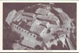 Montegridolfo, Veduta Aerea Anni 50 (?)  Ristampa Recente (bn) - Other Cities