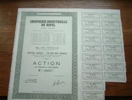 COMPAGNIE INDUSTRIELLE DU RUPEL N° 46047 ( Voir Photo Pour Detail )! - Actions & Titres