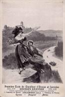 PREMIÈRE ÉCOLE De CHAUFFEUR D\´ALSACE Et LORRAINE : GEORGES KRANNER - STRASBOURG : CYCLES - PEUGEOT - MOTOS (m-493) - Strasbourg