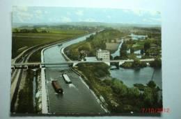 D 80 - Brie - Vue Aérienne Sur Le Canal - Batellerie - France