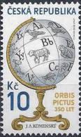 2009 République TCHEQUE 501** Globe Comenius, Animaux - Tchéquie