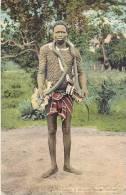 AFRIQUE.SIERRA LEONE A STROLLING SNAKE CHARMER - Sierra Leone