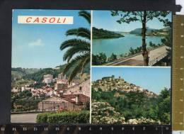 D465 Casoli ( Chieti, Abruzzo ) - Multipla, Vedute  / Viaggiata - Other Cities