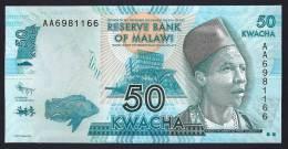 MALAWI  : Banconota 50  Kwacha - 2012 - FDS - Malawi
