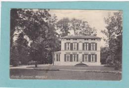 """HUIZE  """" RIJNOORD  """"  WOERDEN  -  1917  -  BELLE CARTE  - - Woerden"""