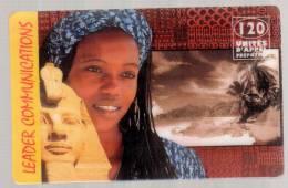 Leader Communications Egypte - 120U - 30.04.1999 - Carte Prépayée - Frankrijk