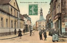 10 CPA ROMILLY SUR SEINE RUE DE LA BOULE D OR - Romilly-sur-Seine