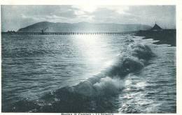 Marina Di Carrara - La Spiaggia (1936) Per Zurigo, Con Segnatassa Svizzera - Carrara