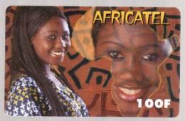 Télécarte Prépayée AFRICATEL 100F 120u - N° De Série: 0000655380 - Frankreich
