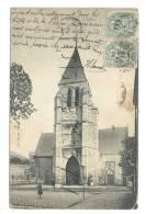 Vierzon (18) : L'église En 1910 (animée). - Vierzon