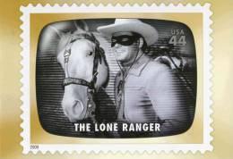 """Entier Postal De 2009 Sur Carte Postale Avec  Timbre Et Illust. """"The Lone Ranger"""" - Postwaardestukken"""