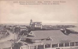 Senegal Dakar Avenue Roume Palais Du Gouvernement Point De La Defense - Senegal