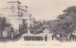 Senegal Saint Louis Cathedrale With Soldiers - Senegal
