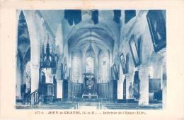 JOUY LE CHATEL. Intérieur De L'église. - Frankreich
