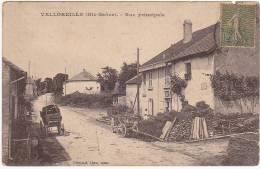 VELLOREILLE (Hte-Saône) - Rue Principale - 1917 - Francia