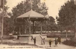 CPA - Tonneins - Le Kiosque Du Jardin Public - Tonneins