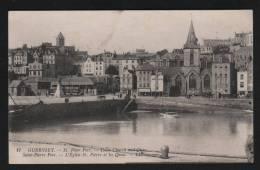 Guernsey // Saint Peter Port  - Twon Churchand Quay//  L'église Saint Pierre Et Le Port - Guernsey