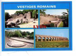 LYON - Vstiges Romains De Fourvière - Aqueducs De Beaunant - Multivues - Lyon