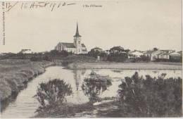 CPA 85 ILE D'OLONNE Vue De L'Eglise 1910 - Sables D'Olonne