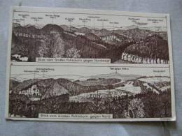 Saupsdorf - Blick Vom Grossen Pohlshorn Gegen Nord    D80909 - Allemagne