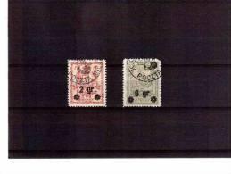 XX3398   -   POLONIA  POSTE LOCALI   -   WARSCHAU   -   MICHEL  9/10  USATI - ....-1919 Übergangsregierung