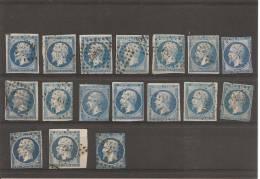 Second Empire (17 Timbres) - 1853-1860 Napoléon III