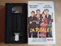 LA TOTALE - VHS CASSETTE  T. LHERMITTE + MIOU-MIOU - Comedy