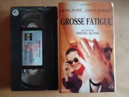 GROSSE FATIGUE VHS CASSETTE  FILM DE  MICHEL BLANC - Comedy