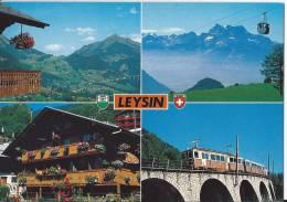 L 626 - Vues De Leysin Et Le Train - VD Vaud