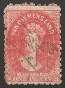 Tasmania SG# 59 Perf.10 - 1853-1912 Tasmania