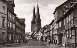 32059     Germania,    Quedlinburg  Die  1000-Jahrige  Stadt, Polkenstrasse  Mit  Blick  Auf  St.  Nikolai,  NV - Quedlinburg