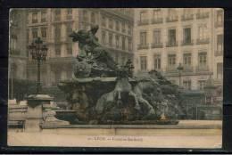 FRANCE 69.CPA.RHÔNE. LYON.CIRCULÉE 1905.FONTAINE BARTHOLDI - Lyon