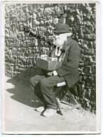 -  MARSEILLE - Grande Photo Ancienne, Vieux Marchand, En Sabot, Reproduction, Début Du Siècle Dernier, Splendide,  . - Reproductions