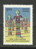INDIA, 1983, Rock Garden,Chandigarh, MNH, (**) - Unused Stamps