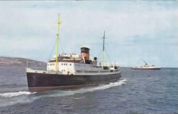 SHIPPING -  FERRY - THE 'MONAS ISLE ' - Ships