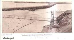 65916)cartolina Illustratoria Breakwater And Suspension Bridge , Warrnambool - Australia