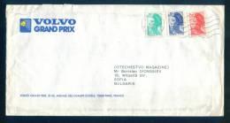 115018 / Cover Brief Lettre 1984 SPORT VOLVO GRAND PRIX Tennis  - LIBERTE DE GANDON - France Frankreich Francia - 1982-90 Liberty Of Gandon