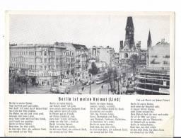 BERLIN IST MEINE HEIMAT   ::  AK ~ 1954 - Wilmersdorf