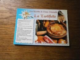 LES RECETTES DE DAME MARMOTTE LA TARTIFLETTE - Recipes (cooking)