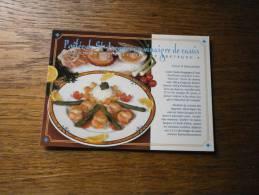 RECETTE POELEE DE ST JACQUES AU VINAIGRE DE CASSIS - Küchenrezepte