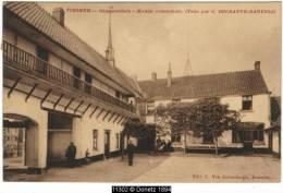 11302g TIEGHEM - Gmeentehuis - Maison Communale - 1911 - Anzegem