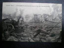 YSER 1914 Militaria WW1 Belgium Belgique 2 Cartes - Guerre 1914-18
