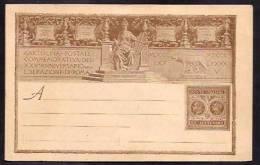 F5185  - CARTOLINA POSTALE REGNO - 1878-00 Umberto I