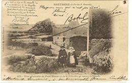 Autographe - Botrel - Sur Carte Postale De Bretagne Collection E Harmonie - Affectueux Souvenir A Mademoiselle Jeanne... - Autographs