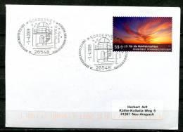 "Germany 2009 Sonderbeleg/Astrologie Mit  Mi.Nr2717 U.SST""26548 Norderney-Sternwarte Wilhelm Dorenbusch""1 Beleg - Astrologie"