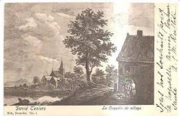 65947)cartolina Localita´ Di BRUXELLES - Un Villaggio - Foreste, Parchi, Giardini