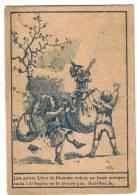 Chromo -63 -Clermont Ferrand -Cordonnerie Nouvelle  Rue Des Gras-Arlequin -Enfants-Devinette - Trade Cards